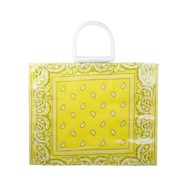 Yellow Bandana Beach Bag | Bitsandpiecestogo | Bag | Beach bag