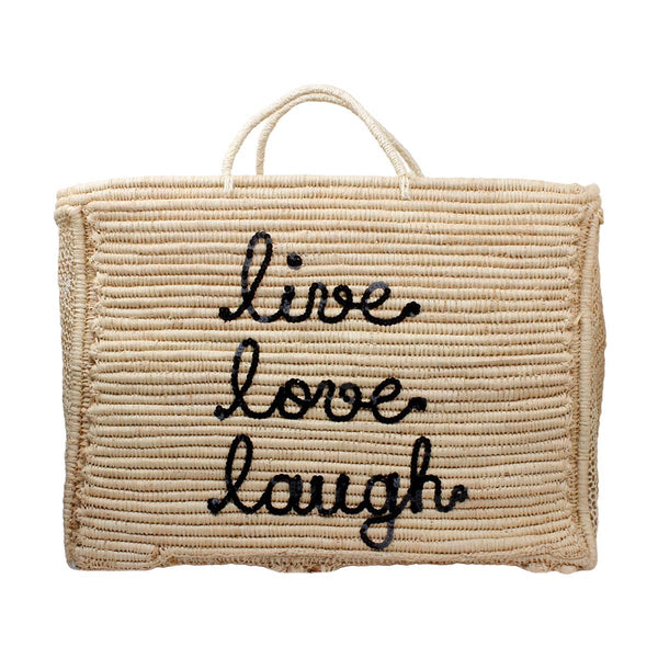 Live Love Laugh Mara Beach Bag | Bitsandpiecestogo | Bag | Beach bag