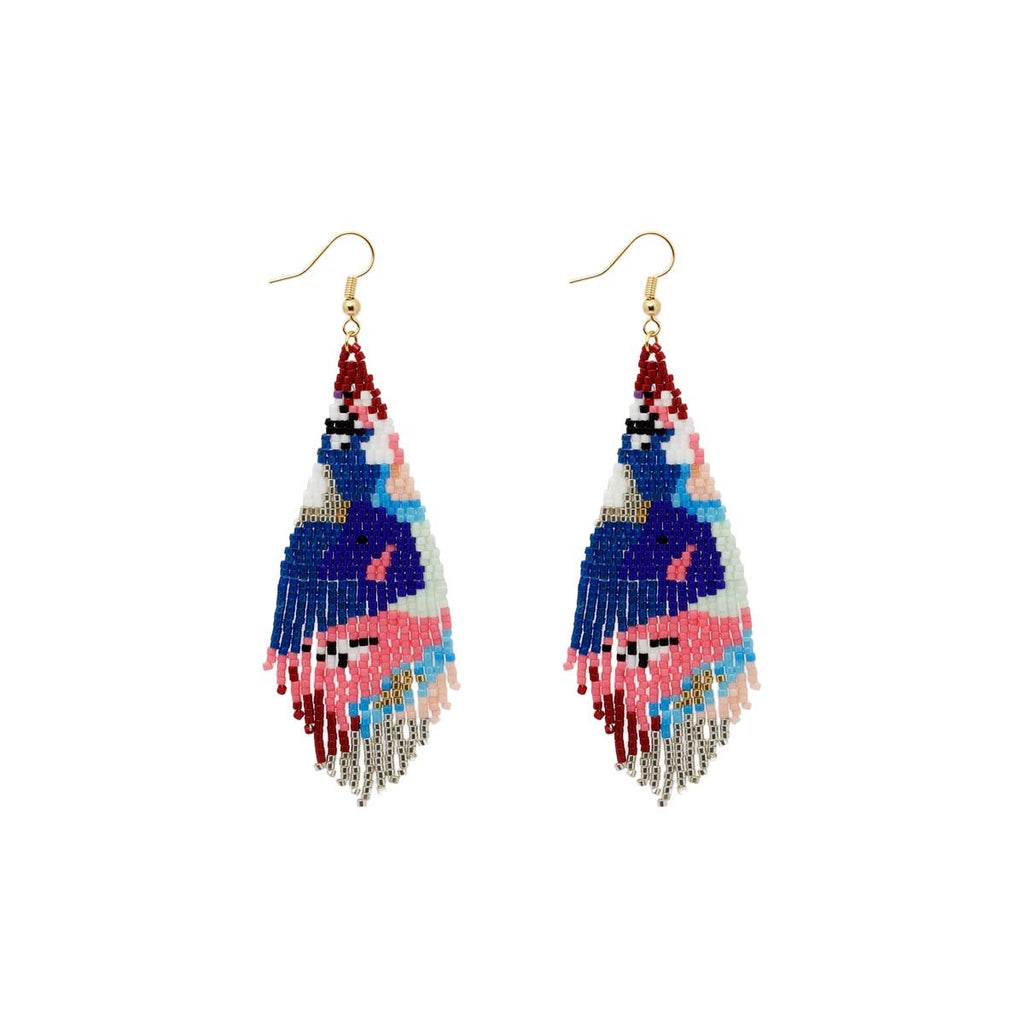Native Miyuki Beaded Earrings | Boom & Mellow | Fashion Accessories | Earrings
