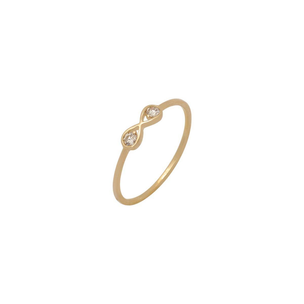 14K Gold Infinity Ring | Boom & Mellow | Fine Jewelry | Ring