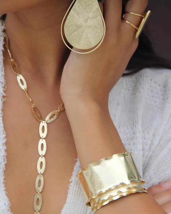 Layered Metal Cuff | Marcia Moran |Fashion Accessories |Bracelets