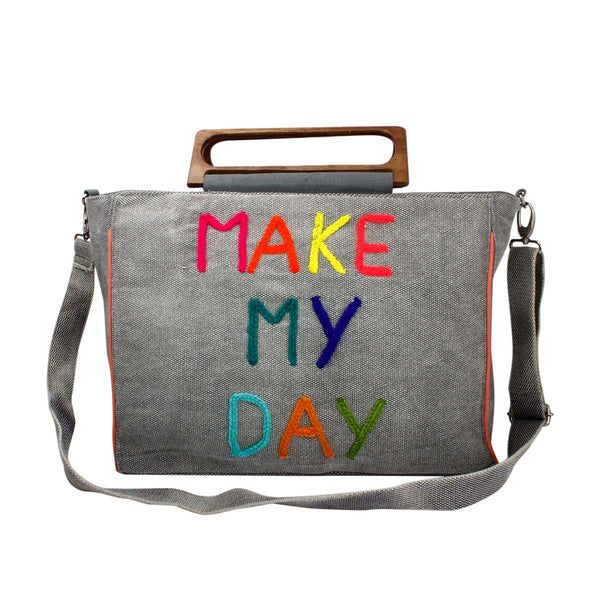 Make my day beach bag