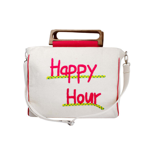 Happy hour beach bag