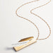 Dashed Envelope Fortune Locket Necklace | Fortune and Frame | Fashion Accessories | Necklace