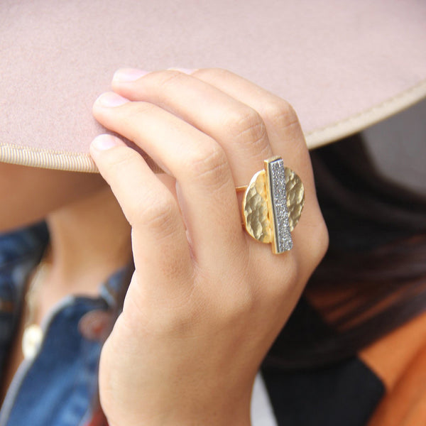 Volplaned Ring | Marcia Moran |Fashion Accessories |Rings