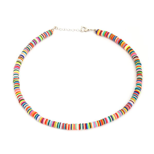 Rainbow surfer necklace