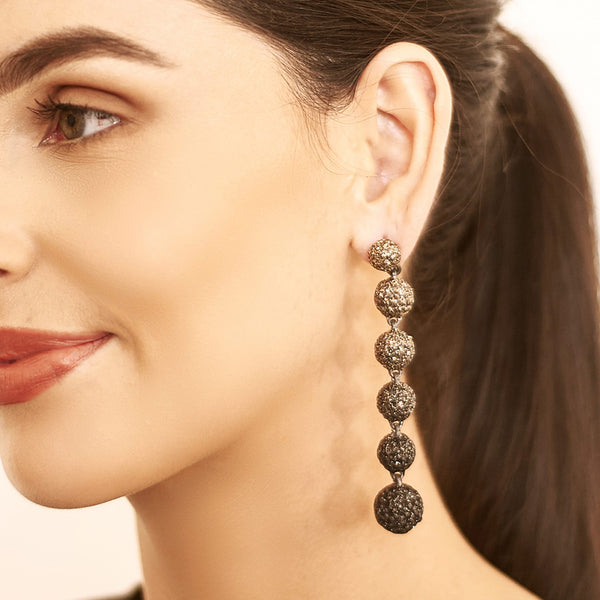 Lena Ball Drop Earrings | KMO | Fashion Accessories | Earrings
