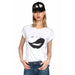 Croft Vintage Holes Biting Ying Yang Lip T - Shirt | Lauren Moshi | Clothes | Tops I T- Shirt