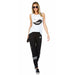 Jess Ying Yang Lips Patches Sweatpants | Lauren Moshi | Clothes | Bottoms | Sweatpants
