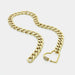 Heart Carabiner Lock Necklace | Boom & Mellow | Fashion Accessories | Necklace