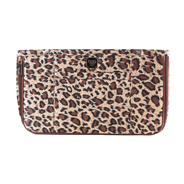 PurseN, Large Jewelry Case leopard brown, Boom and