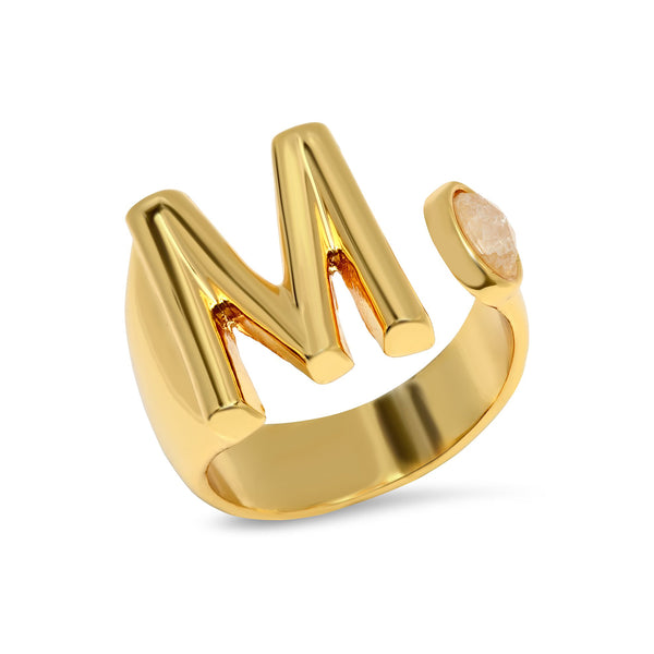 Initial Open Ring | Tai | Fashion Accessories | Rings