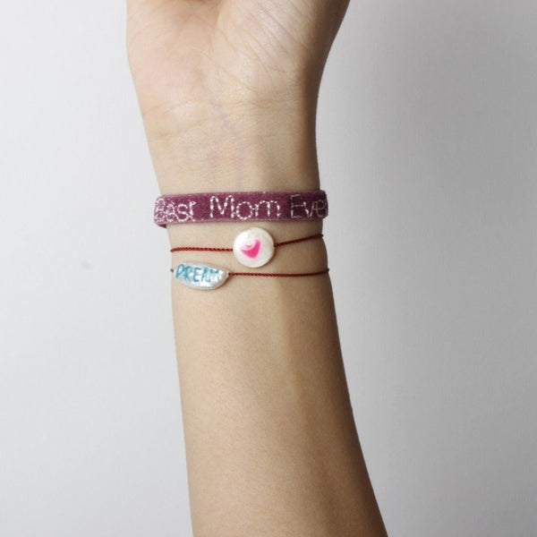 Velvet best mom ever bracelet