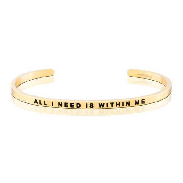 All i need is within me bangle