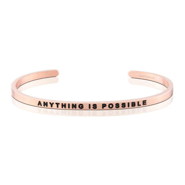 Anything is possible bangle