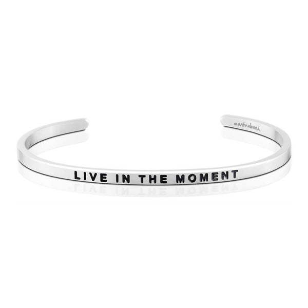 Live in the moment bangle