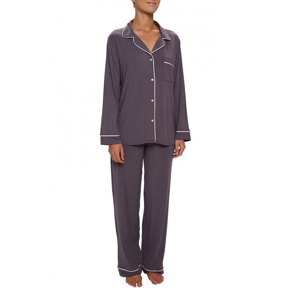 Pebble, sorbet pink gisele long pajama set