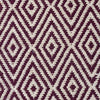 Modern Flatweave Diamond Design Purple Rug - Fantastic Rugs