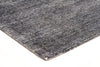 Black Cotton Rayon Rug - Fantastic Rugs