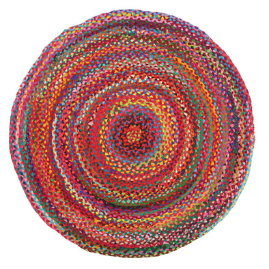 Chandra Braided Cotton Rug Multi - Fantastic Rugs