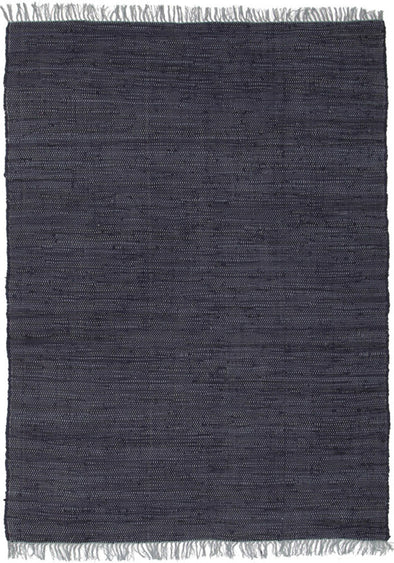 Mina Stunning Cotton Rug Navy - Fantastic Rugs