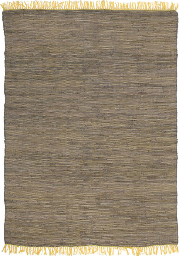 Mina Stunning Cotton Rug Yellow - Fantastic Rugs