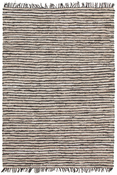 Bondi Leather and Jute Rug Nude Pink White - Fantastic Rugs