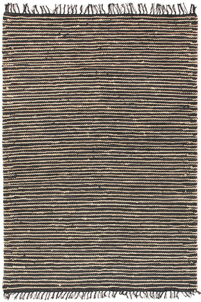 Bondi Leather and Jute Rug Natural Nude Pink