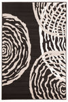 Modern Ripples Rug - Black - Fantastic Rugs