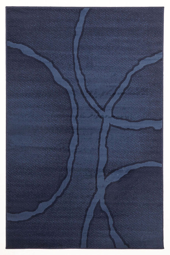 Uber Cool Blue Rug - Fantastic Rugs