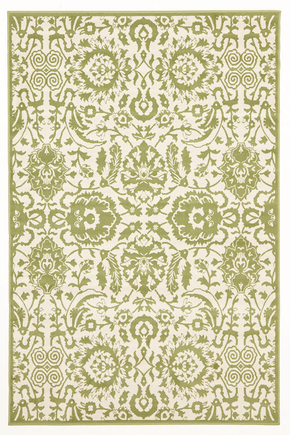 Funky Lace Design Rug Lime - Fantastic Rugs