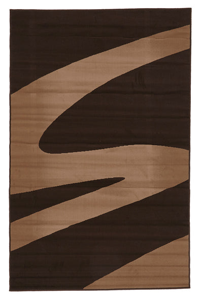 Swish Modern Rug Brown - Fantastic Rugs