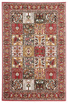 Traditional Compartment Pattern Rug