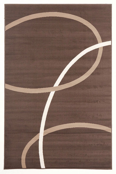 Modern Rug Brown Beige Cream - Fantastic Rugs