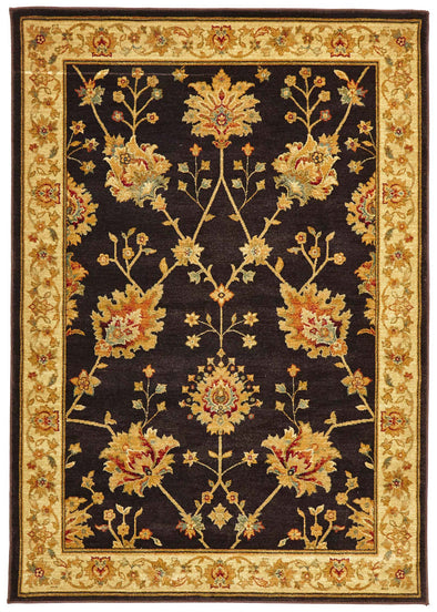 Classic Chobi Design Rug Brown - Fantastic Rugs