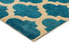 Trellis Stylish Design Rug Blue - Fantastic Rugs