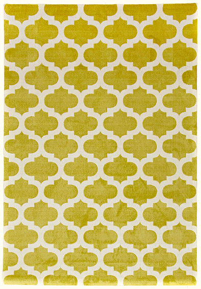 Trellis Stylish Design Rug Green - Fantastic Rugs