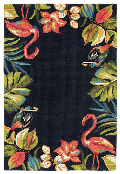 Tropical Garden Stunning Indoor Outdoor Rug - Fantastic Rugs