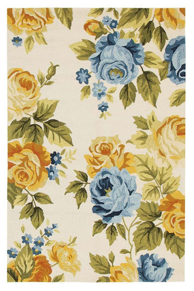 Jessica New Spring Indoor Outdoor Rug Cream - Fantastic Rugs