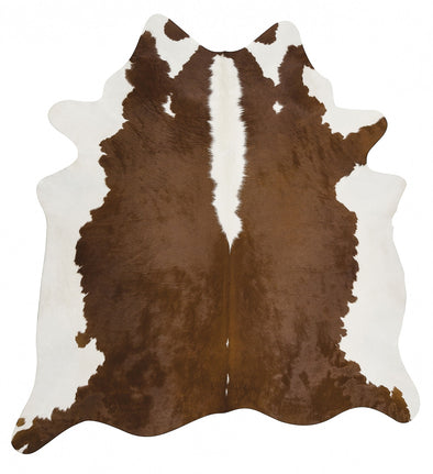 Exquisite Natural Cow Hide Hereford - Fantastic Rugs