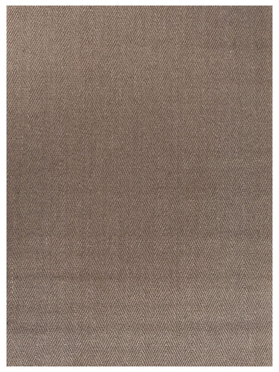 Natural Sisal Rug Herring Bone Brown - Fantastic Rugs