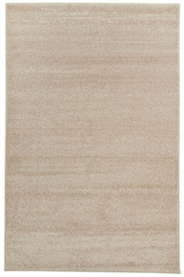 Dense Plain Bone Coloured Rug - Fantastic Rugs