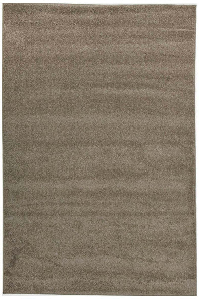 Dense Plain Stone Coloured Rug - Fantastic Rugs