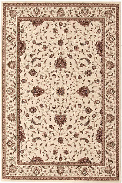 Stunning Formal Classic Design Rug Cream - Fantastic Rugs