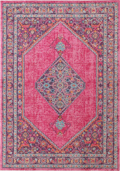 Whisper Diamond Pink Rug - Fantastic Rugs