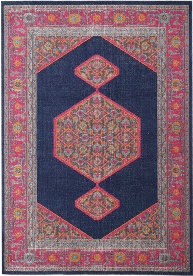 Whisper Blink Navy Rug - Fantastic Rugs