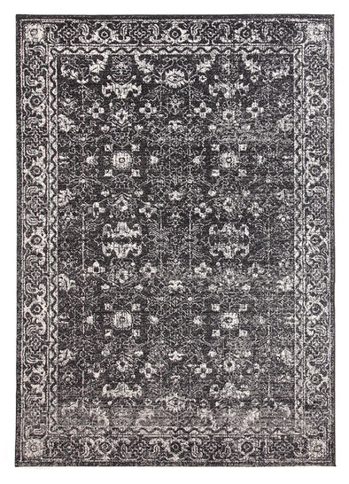 Estella Charcoal Transitional Rug - Fantastic Rugs