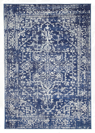 Contrast Navy Transitional Rug - Fantastic Rugs