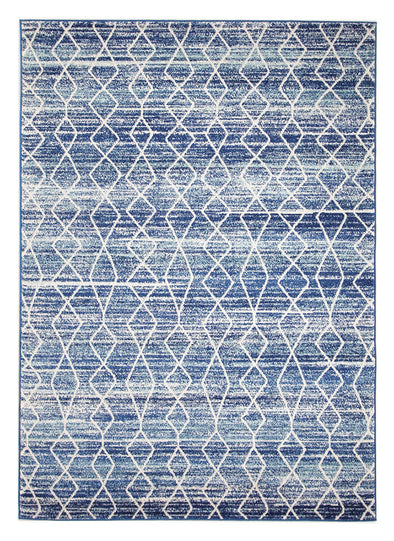 Culture Blue Transitional Rug - Fantastic Rugs