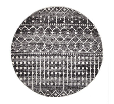 Simplicity Black Transitional Rug